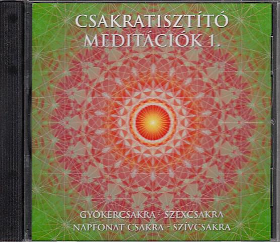 Csakratisztító meditációk 1. CD