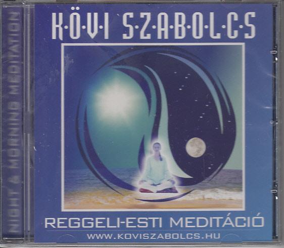 Reggeli-esti meditáció CD